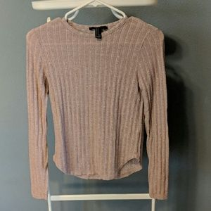 Ribbed forever 21 long sleeve